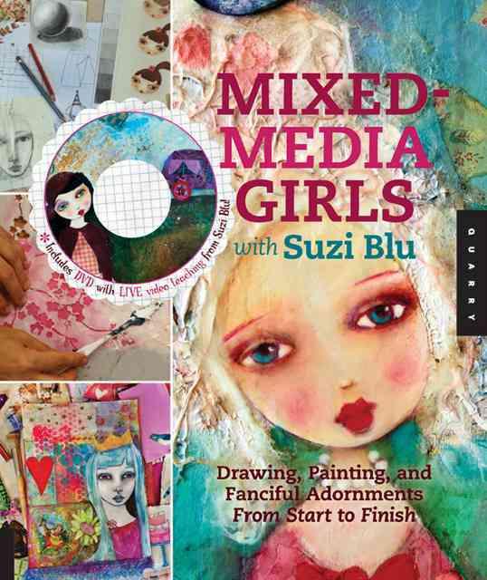 Mixed-Media Girls With Suzi Blu By Blu, Suzi